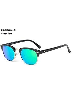 GR Gafas de sol para niños Nuevas niñas Niños Gafas de bebé UV400 Espejo Gafas de sol con estilo Recubrimiento...
