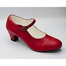 primera vista bastante baratas sensación cómoda Amazon.es: zapatos de sevillanas mujer
