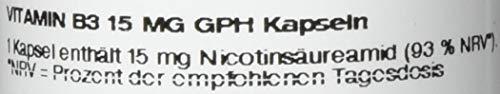 Gall Pharma Vitamin B3 15 mg GPH Kapseln, 1er Pack (1 x 16 g)