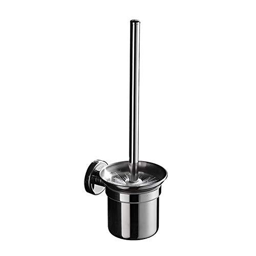 BAM - Brosses WC et supports 304 Porte-Brosse en Acier Inoxydable, Espace Poignée en Aluminium Porte-Brosse De Nettoyage Portable, Accessoires De Toilette pour Salle De Bain