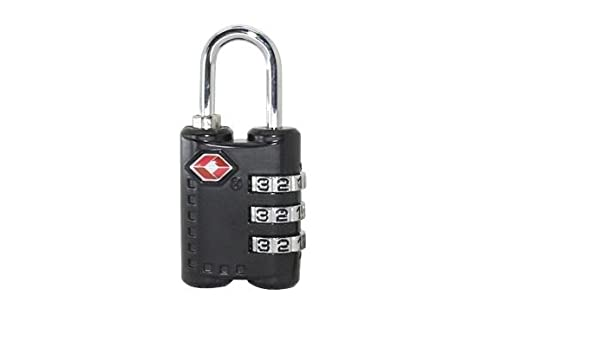 Set-Your-Own Combination Lock for Sc... TSA Approved Luggage Travel Lock 2 Pack