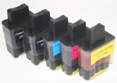 10 kompatible Patronen Brother FAX1835C FAX1840C FAX1940C FAX1940CN FAX2240C FAX2440C LC900 Serie...