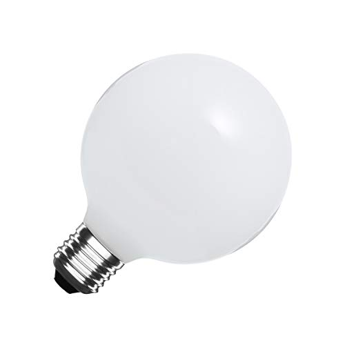 Bombilla LED E27 G95 Glass 10W Blanco Frío 6000K