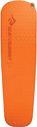 Sea to Summit Ultra Light - Esterilla Ligera para Camping y Trekking Dormir Mat, Color Naranja, tamaño Normal, 1 x 20 x 72inches