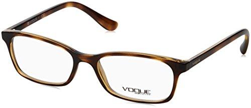 VOGUE Optical Frames Frame DARK HAVANA WITH DEMO LENS