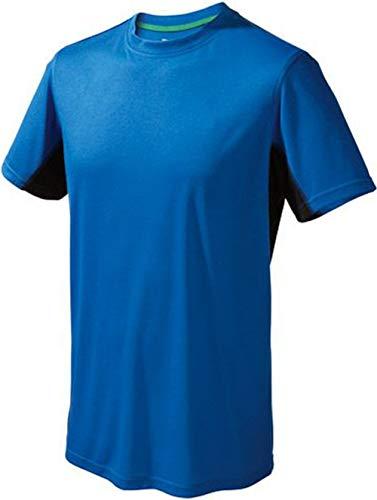 Crivit Outdoor Herren Funktionsshirt Fitnessshirt Fitness Trikot Blau M 48/50