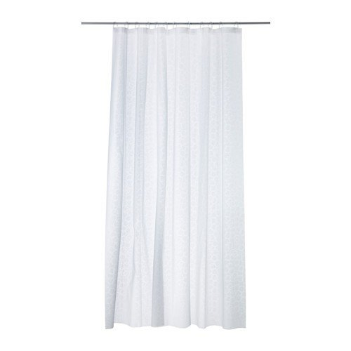 IKEA-Innaren-Cortina-de-ducha-de-PEVA-color-blanco-180-x-200-cm