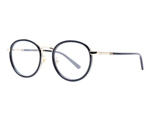 Gucci Brille (GG-0393-OK 001) Acetate Kunststoff - Metall schwarz - gold