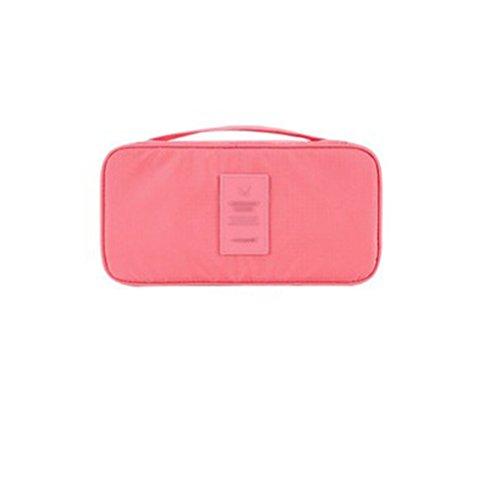 Borsa di stoccaggio biancheria intima Bra Portable calzino di finitura borse di stoffa scatola di immagazzinaggio ( colore : Rosa )