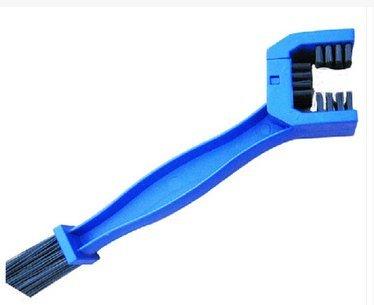 Der&Dies Fahrrad Reinigungsbürste / Fahrradreiniger / Kettenreiniger / Ketten-Reiniger für Fahrrad,Motorrad und andere Ketteninnenlager und Kettentriebbuchsen Pflege und Reinigung.(Blau) - 5