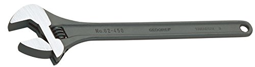 GEDORE Einmaulschlüssel verstellbar 12 Zoll, 1 Stück, 62 P 12