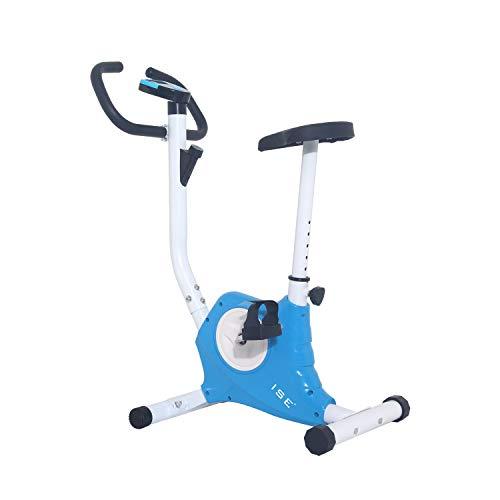 ISE Cyclette da Allenamento, F-Bike Bicicletta Fitness Bike Cardio Trainer per Ufficio/Casa, SY-8018