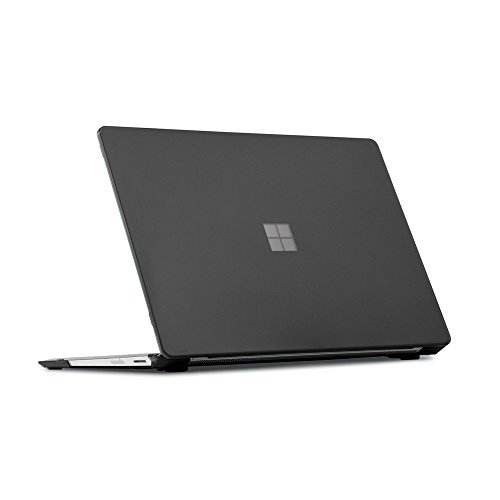 "mCover Hard Shell Cover für Microsoft Surface 34,29 cm (13,5 Zoll) Laptop (13,5"" Surface Laptop, Schwarz)"