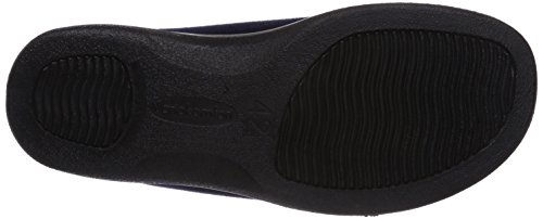 Florett Variocomfort, Pantofole con imbottitura leggera Unisex – adulto Blu (Blau (marine/ 25))