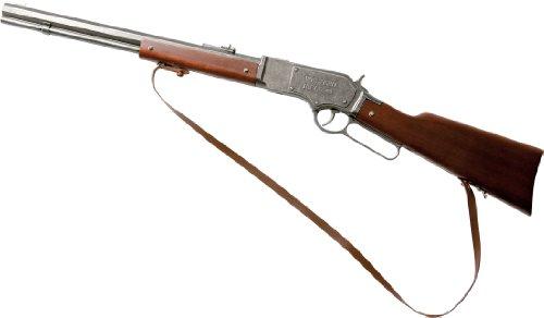 J.G. Schrödel 6090119 - Western Rifle 44 13-Schuss auf Tester Gewehr mit Holzgriff, 73 cm (Jahrzehnte Kostüme Für Kinder)