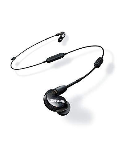 Shure SE215-K-BT1-EFS Bluetooth In-Ear Kopfhörer mit passiver Geräuschunterdrückung für iOS & Android - Premium Ohrhörer mit warmem & detailreichem Klang - Schwarz - 4