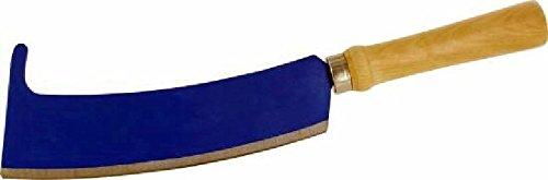 Triuso Holzhappen mit Haken Gartenmesser Happe Messer Werkzeug