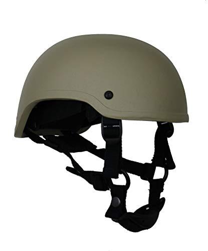 ZEBRA ARMOUR Gefechtshelm Special Forces Helmet KSK Farbe Oliv, Größe S/M (54-57) -