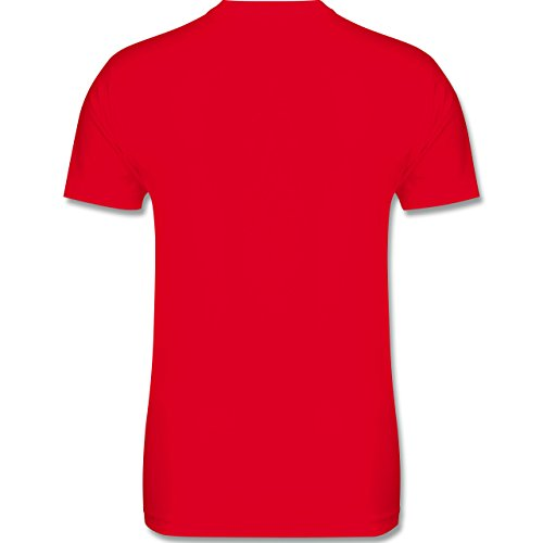 Statement Shirts - Beardformation - Herren Premium T-Shirt Rot