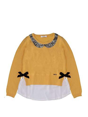 Liu Jo Jeans Liu Jo Bambina K68104 MA14G Yellow Maglione Inverno 4 Anni 6f52d689d8c