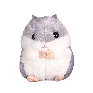 TOYANDONA Kawaii Hamster Llavero Peluche
