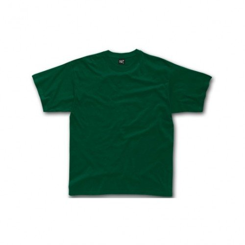SG - Maglietta 100% Cotone - Uomo Rosa scuro