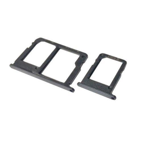 bablu enterprises Original Sim tray Holder For Samsung Galaxy J5 Prime / Samsung Galaxy J7 Prime / Samsung Galaxy J7 Pro - BLACK