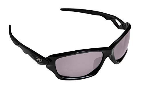 Rayzor Professionnel léger UV400 Noir Sport Wrap Tir à l'arc Lunettes de Soleil, avec Un Miroir fumé antireflet des Verres