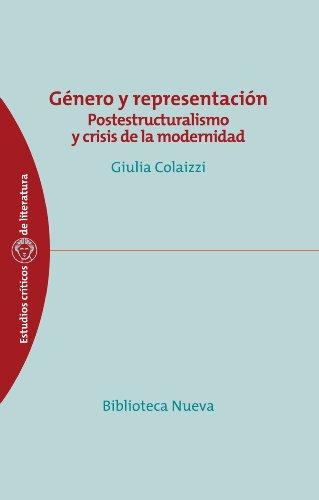 Género y representación : postestructuralismo y crisis de la modernidad Cover Image