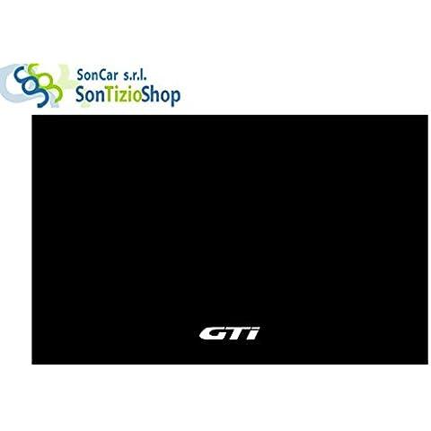 Alfombrilla de maletero para baúl y Portabagli Auto. Alfombra de moqueta a medida para PEUGEOT 206.: Fabricación de hilo GTI 98'.