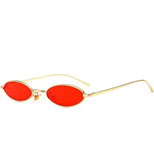 YOURSN Kleine Punkte Ovale Sonnenbrille Für Frauen Sonnenbrille Schmales Gesicht Damen Sonnenbrille Transparente Brille Shades-C07