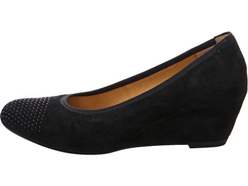 Gabor Womens Shoes 65.363.12 Pumps Donna, Tacchi, Stile Black