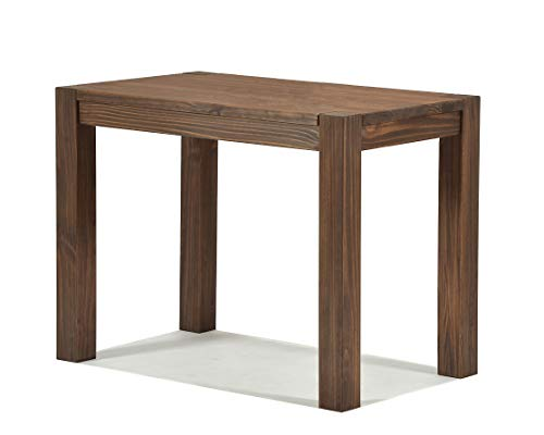 Naturholzmöbel Seidel Esstisch Rio Bonito 90x50cm, Pinie Massivholz, geölt und gewachst, Tisch Farbton: Cognac braun