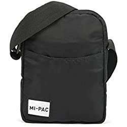 Mi-Pac Mi-Pac Flight Bag Nylon Bolso Bandolera 21 Centimeters Negro (Black)