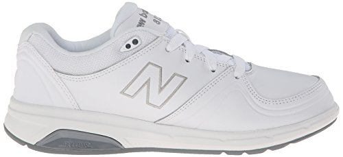 New Balance Women's WW813 Walking Lace Shoe, White, 10 D US WT