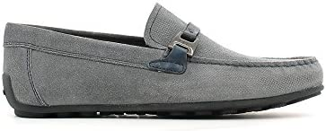 Geox - Mocasines para hombre gris gris 41 EU