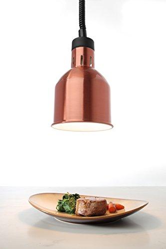 Hendi 273890 lampada termica cilindrica regolabile