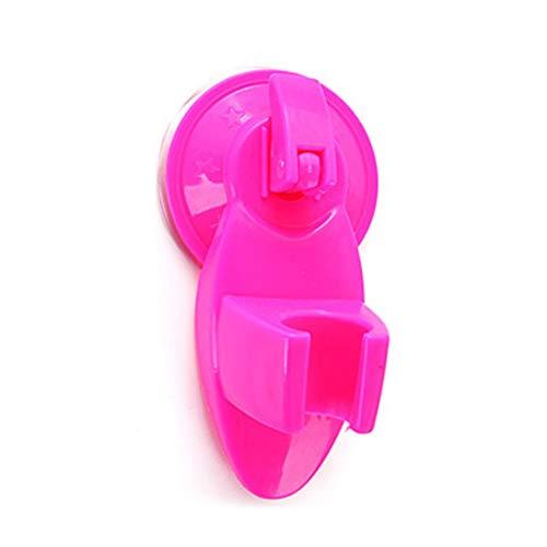 Prima05Sally Starke Saugnapf Dusche Befestigung Basis Duschkopf Halter Rack Halterung Praktische Duschdüsenständer Badzubehör (Halter Halterung Duschkopf)