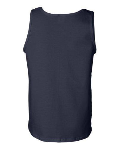 Poke Me auf American Apparel Fine Jersey Shirt Navy