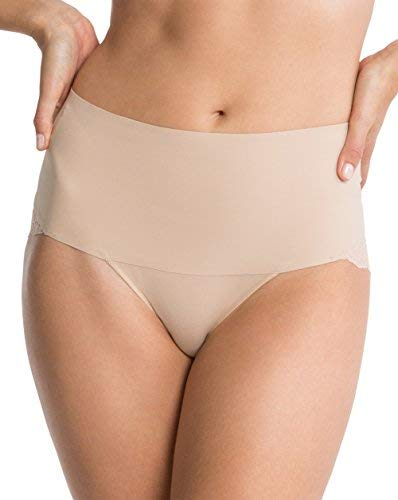 Spanx Undie-tectable Womens Nylon Cheeky Panty with Cotton Gusset SP0415 -