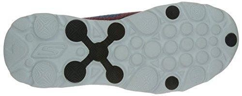 Skechers, Scarpe da corsa uomo, multicolore (Black/Blue/Oxford), 10 D(M) US Black/Blue/Oxford