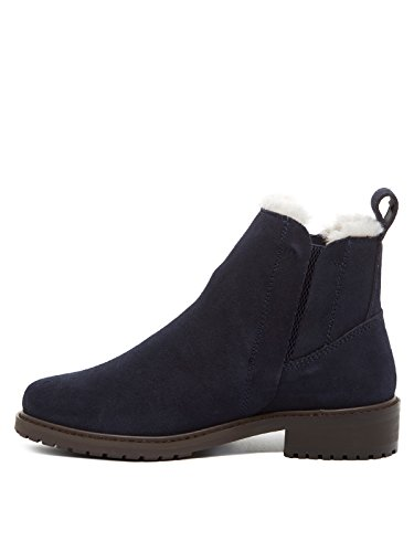 Emu Pioneer Women's Ankle Boots Blu (Midnight)