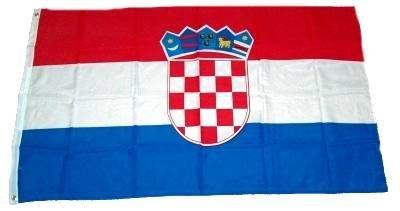 Fahne / Flagge Kroatien NEU 60 x 90 cm Fahnen Flaggen