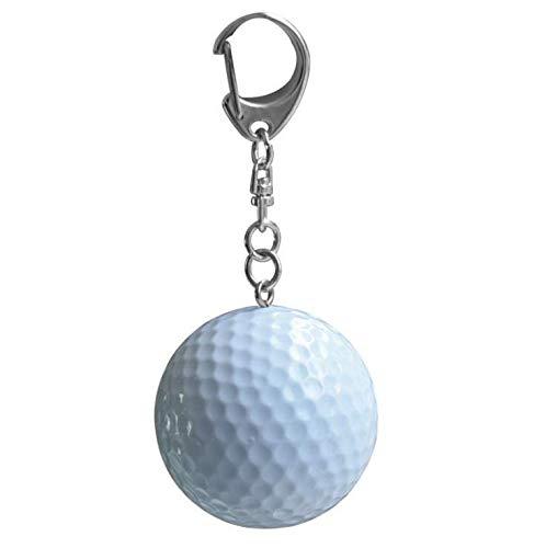 IU Desert Rose Hausbedarf Mini Golf Keychain Gummi Schlüsselanhänger Sport Stil Schmuckstücke Mode Anhänger Tasche Ornament Kreative Geschenk -