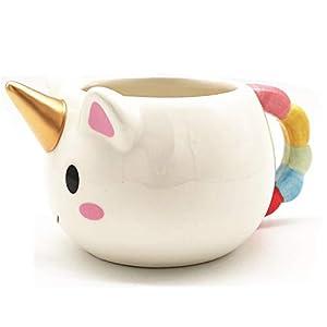 HUISHENG Taza Unicornio, Unicorn Mug,