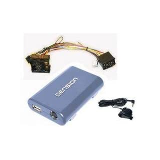 DENSION GATEWAY Lite 3 BT GBL3BM1 (iPhone + iPod + USB + Bluetooth) for BMW, Mini & Rover (17-pin / round pins / Bavaria)