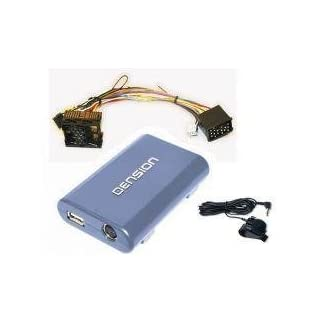 DENSION-GBL3BM1-GATEWAY-Lite-3-BT-geeignet-fr-iPhone-iPod-Lightning-USB-und-Bluetooth-kompatibel-mit-BMW-Mini-Rover-17-PinRunde-PinsBavaria