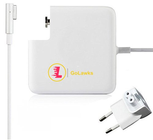 """LaWkS MagSafe 60W Power Adapter Charger for Apple MacBook Pro 13"""" A1278, MB990, MB990*/A"""
