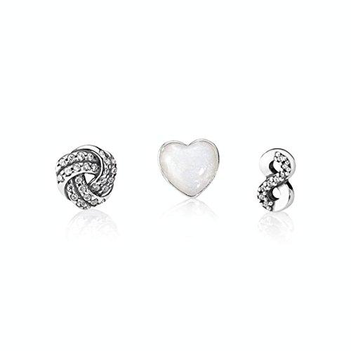 Pandora Damen-Schmuckset 925 Silber - 792103CZ