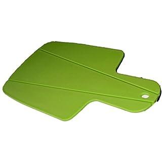 all-around24 Schneidebrett Set Kunststoff Biegsames Design flexibel faltbar Küchenbrett in 4 (Grün, 1 Stück)